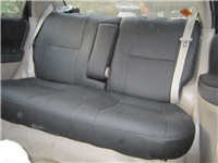 suzuki liana rare back seat cover rexine leather right -61